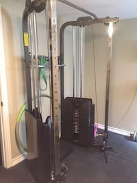 Black and gray exercise equipment Oakville, L6M 4W6