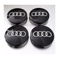 Audi Wheel Center Caps – Multiple Styles - Fits all Make and Models Toronto
