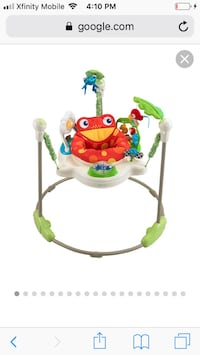 Rainforest jumperoo Herndon, 20170