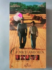 Of Mice and Men vhs Baltimore