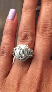 "Original ""SIMON G"" ring.  Appraised at $16,000.00 (Appraisal letter included) Edmonton, T6X 0T5"