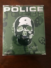Police Camouflage cologne