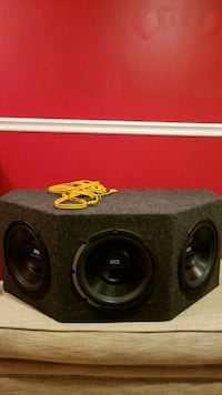 Mtx speaker box with amp Fall River, 02720