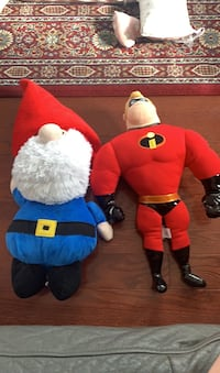 Mr. incredible doll and gnome doll Vaughan, L4H 0Y1