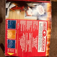 Fire escape ladder never used $25 for one or $40 for two. See my other listing.  Laurel, 20723