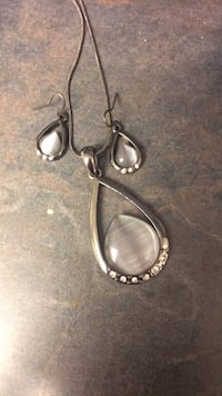 pair of silver-colored earrings Cocoa, 32926