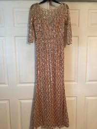 Women's Rose Gold Sequence Dresses Ontario, 91762