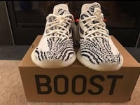 White-and-black adidas yeezy boost 350 Capitol Heights, 20743
