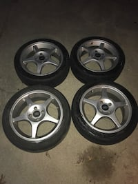 Ford Focus 2002 SVT Rims & Tires 4x4 lug