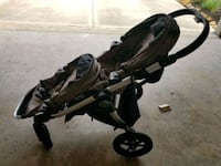 Stroller. For twins. City jogger