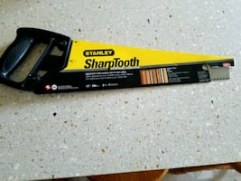 Stanley Sharptooth Saw; New