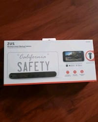 Zus wireless smart back up camera