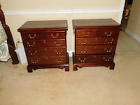 Night Stands, Solid Mahogany