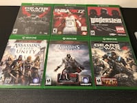 Xbox One Games Very Good Condition