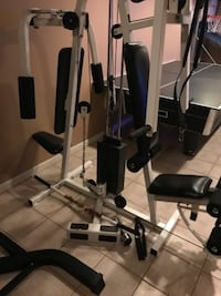 Weight lifting gym equipment