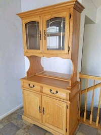 OAK CHINA CABINET  Forest Hill, 21050