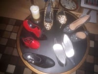 Ladies heels and 1 pair of ankle boots Edmonton, T6E