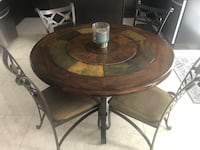 Solid Wood Kitchen Table with Chairs Brampton, L6V 3A5