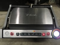T-fal OptiGrill (Model 8351S1) Stainless steel electric grill Toronto, M6J 3P1