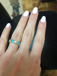 Gold ring size 6-6.5 Vaughan, L6A