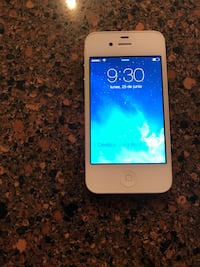 white iPhone 5 with black case New York, 10471
