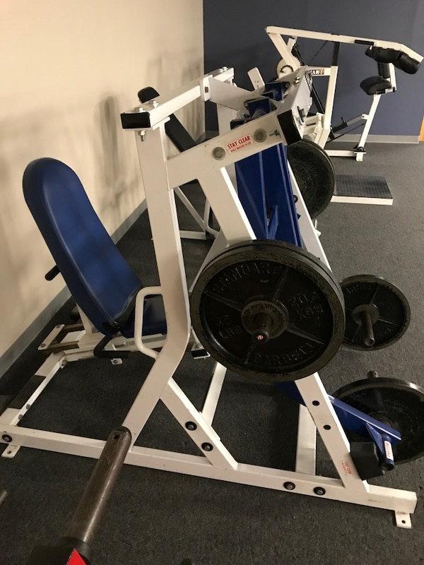 Leg Press For Sale >> Hammer Strength Iso Leg Press