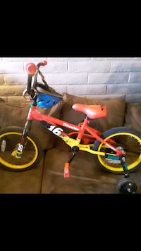 toddler's red and black bicycle Tucson, 85716