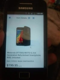 black Samsung Galaxy android smartphone Calgary, T2H 1H1