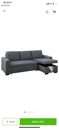 Convertible daybed sofa trundle chaise ikea Los Angeles, 90071