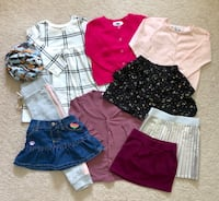 Toddler girl's fall fashion lot Mississauga, L5M 6C6