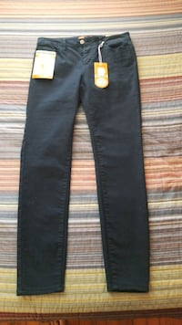 Navy Blue Butt I Love You Wax Jean's Size 7