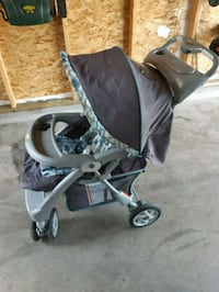 baby's black and gray stroller Edmonton, T6T 0N7