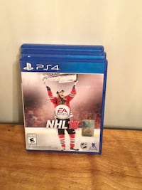 Sony PS4 EA Sports NHL 16 case Niagara Falls, L2E 4W5