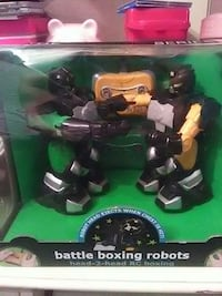 Brand new remote controlled battle boxing robots