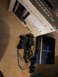 PlayStation 3 80gb with 3 working controllers Temple Hills, 20748