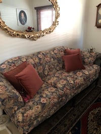 Couch, Loveseat, coffee table and 2 end tables(French Provincial) Palmdale, 93550