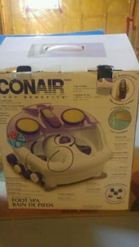 Conair Remote Control Foot Spa& Accessories! Ottawa, K2S 0K5