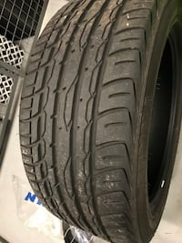 3 WEEKS USED SUMMER TIRE FOR SALE !!! Toronto, M9W 0C6