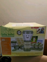 white and green electric breast pump box Toronto, M9N 2T7