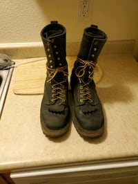Whites boots. Smoke Jumpers 9 E.