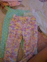 toddler's pink and white floral pants Kuna, 83634