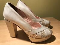 Off white champagne pumps shoes Alexandria, 22304