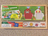 Brand new Melissa & Doug sound sorting set