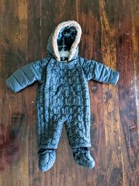 Mark's &  Spencer Bab Boy Snowsuit - 3-6 months - Beautiful and Cozy!