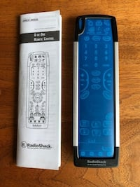 Radio Shack Universal Remote 6-IN-1