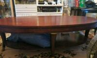 brown wooden framed glass display counter Los Angeles, 90065