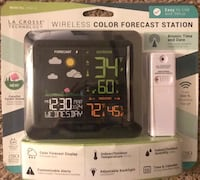 Wireless Color Forecast Station Las Vegas, 89102