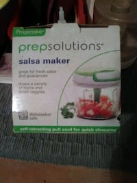 PREP SOLUTIONS *Salsa Maker* Brand new in the box Pequannock Township, 07444