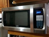 stainless steel and black microwave oven Paterson, 07513