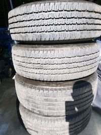 I am selling a 2500 ram stock wheel tires are in g Rialto, 92376